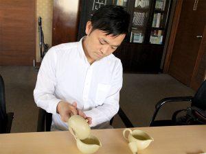 日本茶インストラクター高津真さん
